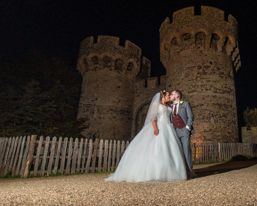Cooling castle wedding venue